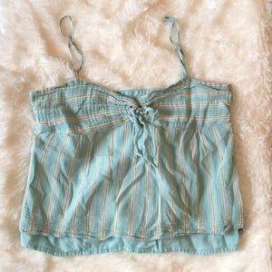 American Eagle thin strap crop top size 2 XS